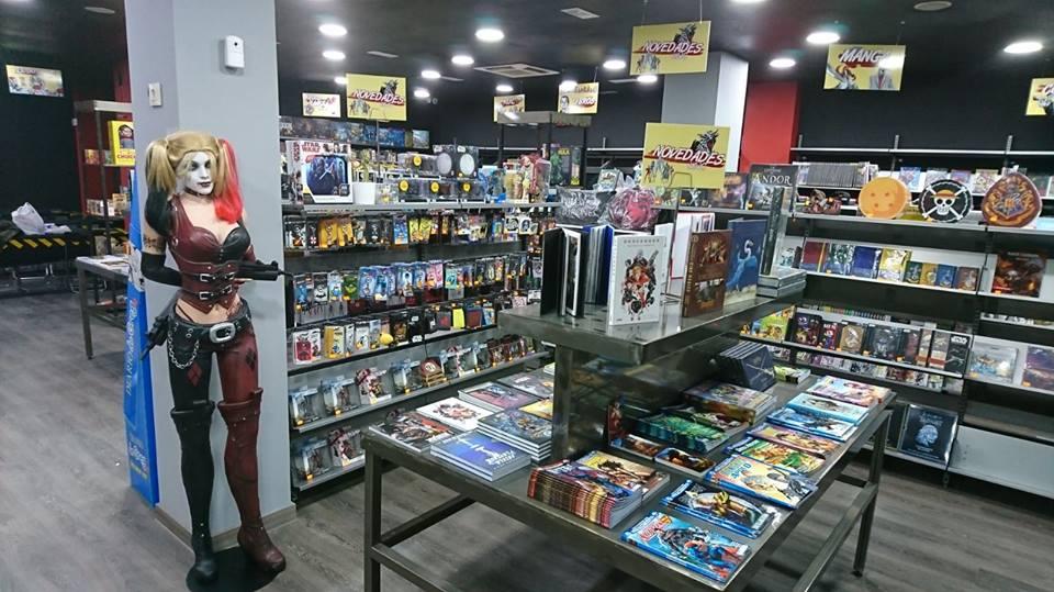 Comic stores inaugura una nueva tienda en alcal de henares geomedia consultores - Tiendas muebles alcala de henares ...